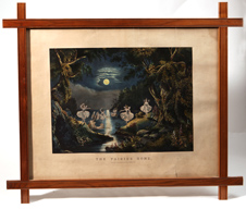 Large Folio Currier & Ives The Fairies's Home