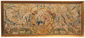 Large 18th Century  Needlepoint Picture