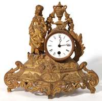 French Figural Clock