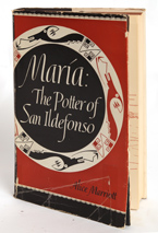 AUTOGRAPHED BOOK MARIA THE POTTER OF SAN ILDEFONSO