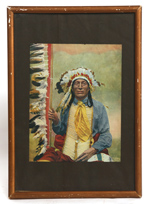 REINHART PHOTO OF SIOUX CHIEF
