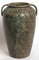 BURLEY WINTER ART POTTERY FLOOR VASE