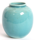 ROOKWOOD HIGH GLAZE VASE