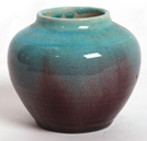 PISGAH FOREST ARTS & CRAFTS POTTERY VASE