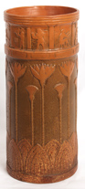 WELLER EGYPTIAN STYLE UMBRELLA STAND