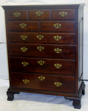 EARLY WALNUT HIGH CHEST