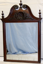 LG. CARVED MIRROR