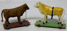 COW PULL TOYS
