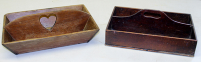 EARLY CUTLERY TRAYS