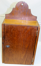SMALL EARLY HANGING CUPBOARD