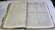 BOUND 1820 NEWSPAPERS