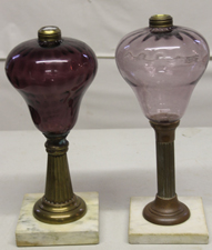 EARLY OIL LAMPS