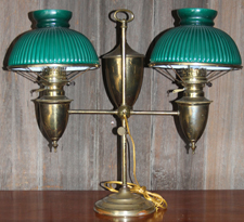 DOUBLE STUDENT LAMP