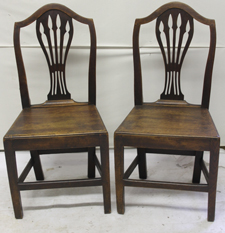 PR. CHIPPENDALE CHAIRS