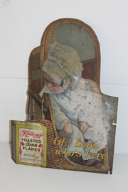 EARLY CORN FLAKES SIGN