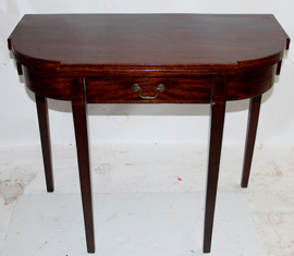 PERIOD INLAID CARD TABLE