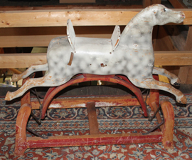 EARLY ROCKING HORSE