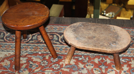 EARLY FOOTSTOOLS