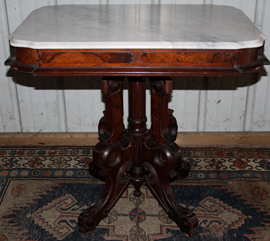 FINE MARBLE TOP TABLE