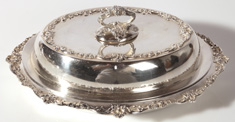 GORHAM STERLING COVERED DISH