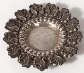 VIENNA SILVER REPOUSSE DISH