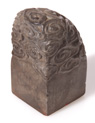 CARVED STEATITE CHINESE SEAL