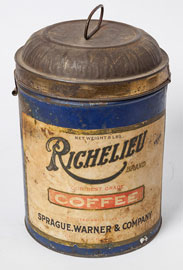 Richelieu Coffee Tin