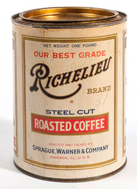 Richelieu Roasted Coffee Tin