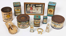 Large Lot Monarch Tins Plus
