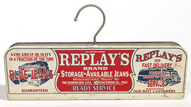 Replay's Blue Jeans Hanger