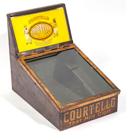 Courtello Cigar Tin Display Case