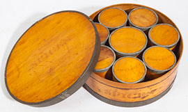 Bentwood Spice Cannister