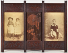 Inlaid Arts & Crafts Photo Frame