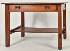 L. & J.G. Stickley No. 529 Library Table