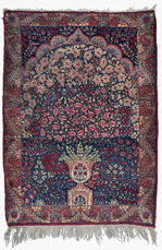 Antique Tree of Life Persian Silk Blend Rug