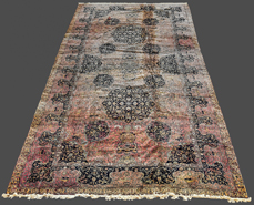 Large 22' Palace Size Semi-Antique Persian Rug