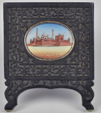 Mughal Miniature Painting in Frame