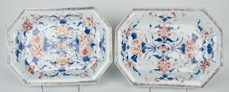 Pair Of Chinese Export Porcelain Platters