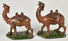 Pair of Camel incense Holders