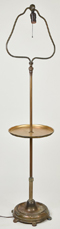 Rembrandt Harp Form Floor Lamp