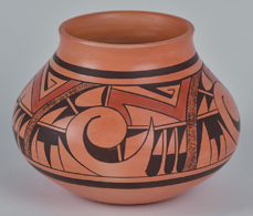 Dawn Navasie Hopi Polychrome Jar