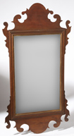 PERIOD CHIPPENDALE MAHOGANY MIRROR