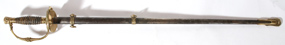 M1860 STAFF OFFICER'S SWORD & SCABBARD