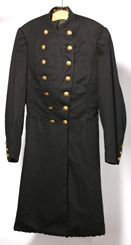 ID'D CIVIL WAR OHIO 7TH CAVALRY FROCK COAT