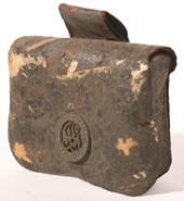 ID'D CIVIL WAR CARTRIDGE BOX