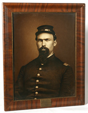 LG. CIVIL WAR PHOTO OF LT. JOHN GIBSON
