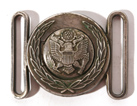 1902 U.S. ARMY GENERAL OFFICER'S BELT PLATE