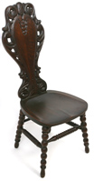 LATE 19TH CENTURY AMERICAN OAK CHAIR