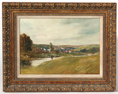 THOMAS J. WILLISON (OH/KY) OIL PAINTING