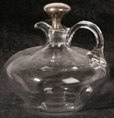 DECANTER WITH STERLING STOPPER